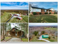 82+Ac, 2 Homes, 5 Ponds, All Fenced : Lafayette : Macon County : Tennessee