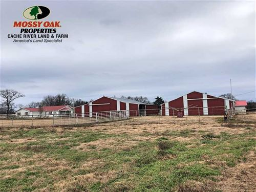 Motivated Seller, 23 Acres Eque : Center Ridge : Conway County : Arkansas