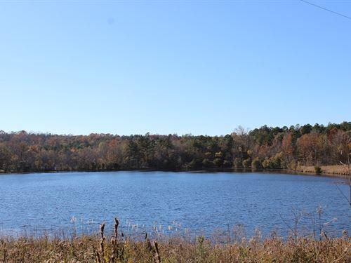 2 Lakes Totalling 22 Acres : Jeffersonville : Twiggs County : Georgia