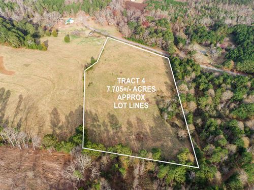 7+ Acre Private Home Site : Covington : Walton County : Georgia