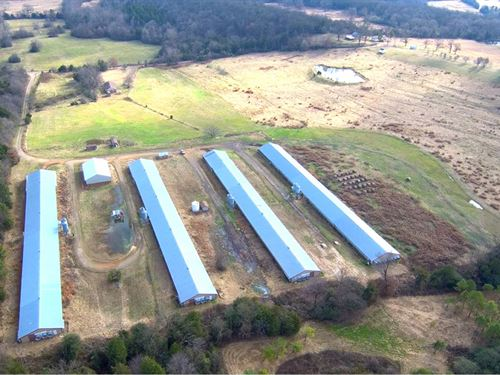 Four Hse Broiler Farm 1990 W 35 Ac : Booneville : Logan County : Arkansas