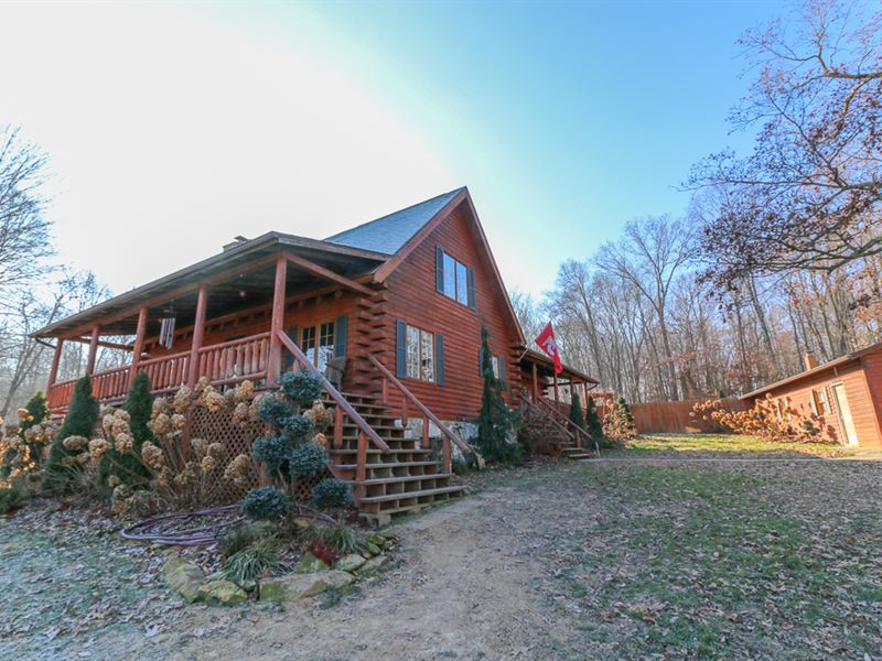 Adams Rd, 57 Acres : Beaver Rd : Pike County : Ohio
