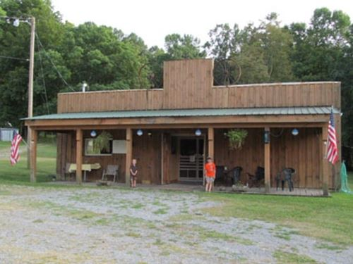 Multi Use Commercial Building : Troutdale : Smyth County : Virginia