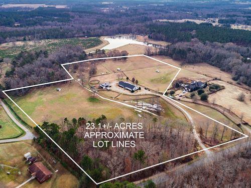 Acreage, Farm And A Home : Good Hope : Walton County : Georgia