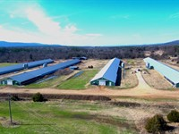 Arkansas Broiler Farm Has Four 2002 : Hartford : Sebastian County : Arkansas