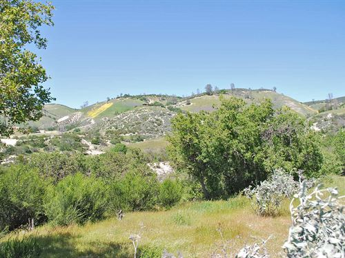 Very Secluded 157+/- Acre Parcel : Lockwood : Monterey County : California