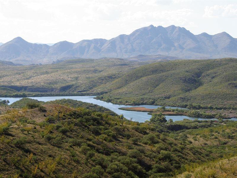 Rare Patagonia Lake View Parcel : Patagonia : Santa Cruz County : Arizona
