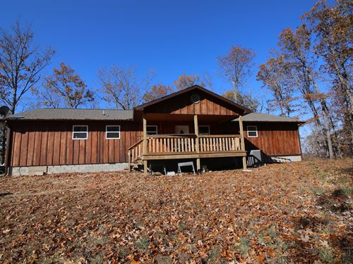 New Country Home With a View : Gainesville : Ozark County : Missouri