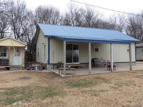 18 Acres Country Home Golden City : Golden City : Barton County : Missouri