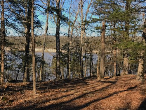 9 Acres On Bull Shoals Lake : Cedarcreek : Taney County : Missouri