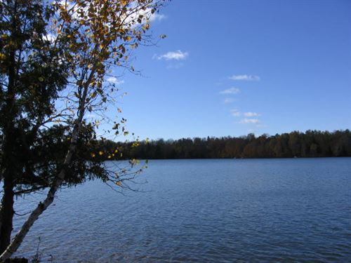 One Of The Most Beautiful Lots : Winchester : Vilas County : Wisconsin