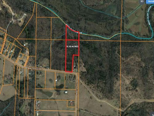 9.10 AC West Flint Creek Northern : Danville : Morgan County : Alabama