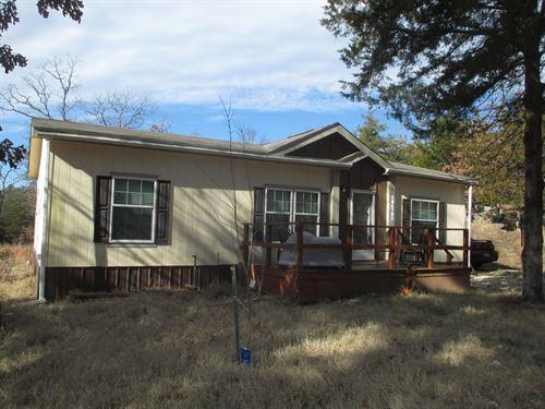 Home 10 Acres in Finley, Oklahoma : Finley : Pushmataha County : Oklahoma