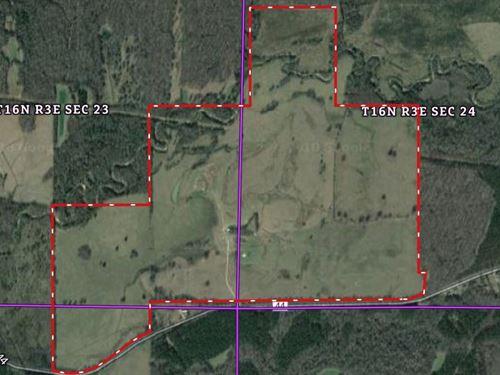 Ranch Pasture : Linden : Marengo County : Alabama