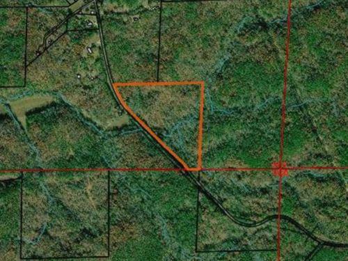 26 Acres With Creeks In Talladega : Talladega : Alabama