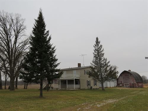 80 Acre Hobby Farm / Hunting Land : Mora : Kanabec County : Minnesota