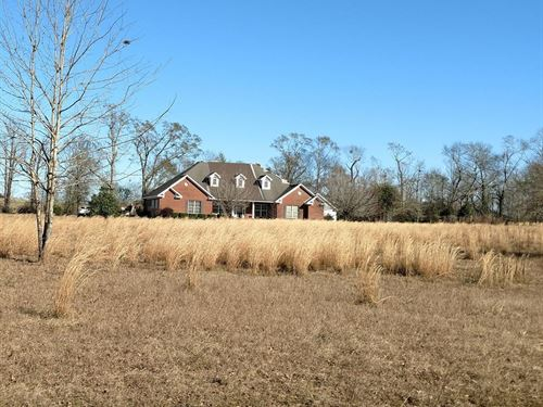 Home For Sale Near Dothan, AL : Ashford : Houston County : Alabama
