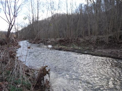 82.90 Acres, Gushing Creek, Views : Celina : Clay County : Tennessee