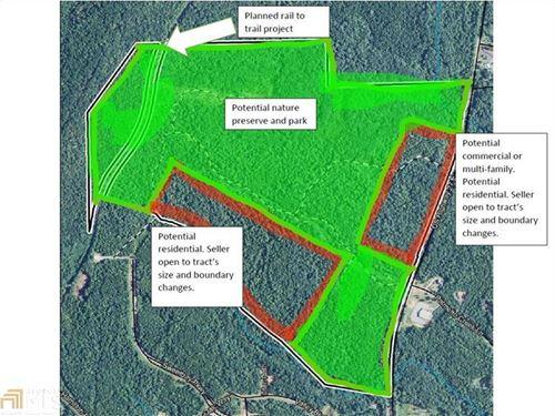 293 Acres Near Callaway Gardens : Hamilton : Harris County : Georgia