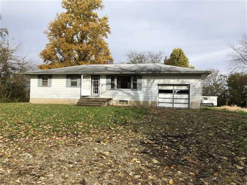 Ranch Home With 5 Acres Very Priva : Daleville : Delaware County : Indiana