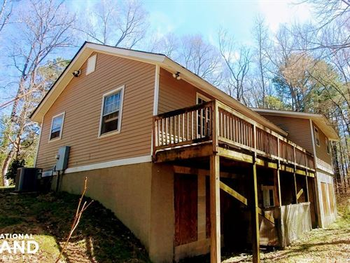 Affordable 10 Acre Riverfront Fixer : Zebulon : Wake County : North Carolina