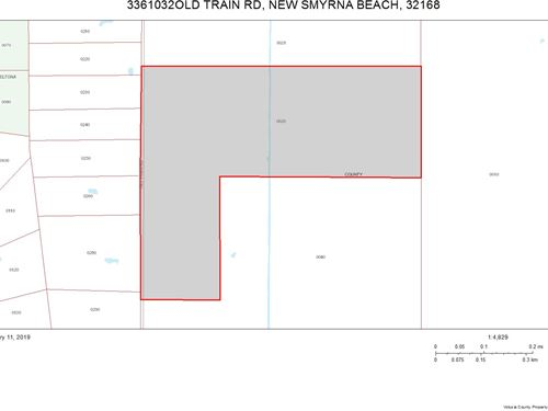 Acreage For Your Farm Or Estate : New Smyrna Beach : Volusia County : Florida