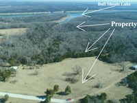 10 Acres On Bull Shoals Lake : Branson : Taney County : Missouri
