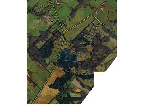 Broughton Rd 21.71 Acre Tract : Newborn : Morgan County : Georgia