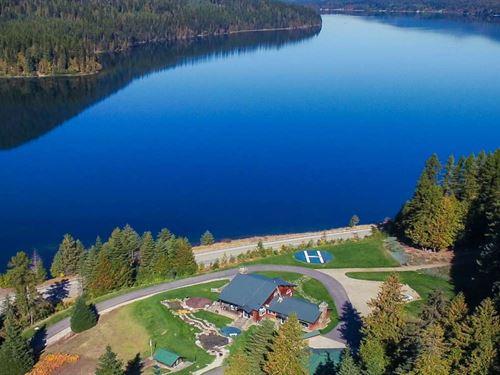 Lake/Mountain Estate : Troy : Lincoln County : Montana