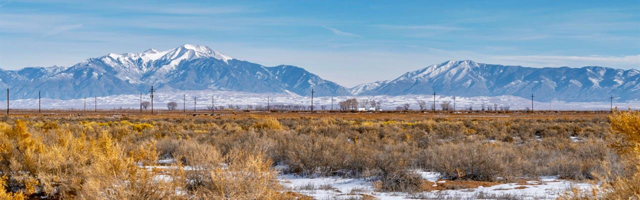 Ranch With Electric & Road Frontage : Alamosa : Colorado