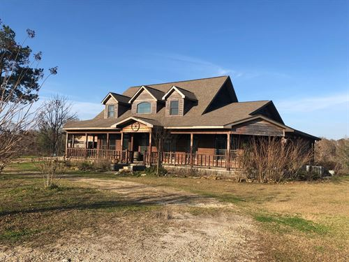 Large Beautiful Home 23.4 Acres : Black : Geneva County : Alabama