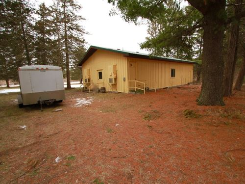 Recreational Hunt Camp Minutes From : Oxford : Adams County : Wisconsin