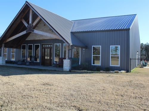 Steel Home Custom Built 10 Acres : De Kalb : Bowie County : Texas
