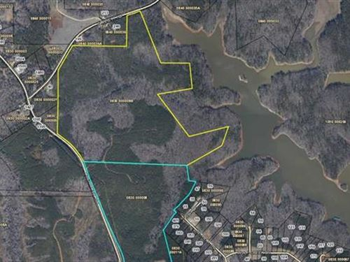 149 Acres Near Chattahoochee River : Lagrange : Troup County : Georgia