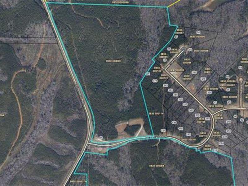 Map Of Georgia 75.75 Acres Near Chattahoochee River Farm For Sale Lagrange Troup