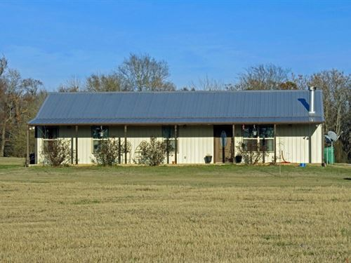 Custom Metal Home Anderson County : Elkhart : Anderson County : Texas