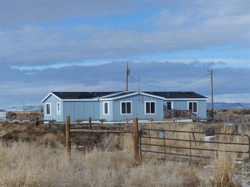 15 Miles East Burns, Mh 79+ Acres : Burns : Harney County : Oregon