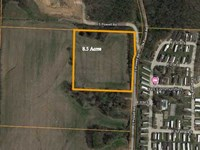 8.5 Acres M/L Building Site For yo : Independence : Jackson County : Missouri