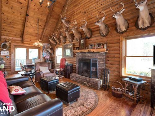 Ivy Creek Farms Lodge & Lake : Autaugaville : Autauga County : Alabama