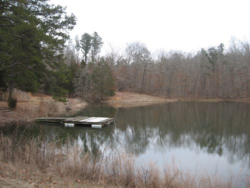 Cabin, Lake & Over 300 Acres : Fredericktown : Madison County : Missouri