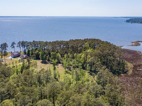 Gorgeous Waterfront Peninsula : Belhaven : Beaufort County : North Carolina