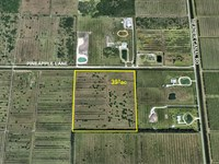 Pasture, Artesian Well & Oaks : Fort Pierce : Saint Lucie County : Florida
