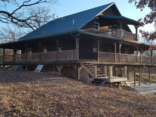 Hunting Land Large Home, Pole Barn : Green Castle : Putnam County : Missouri