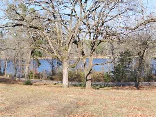 Lakefront Lot East Texas Land Lake : Hawkins : Wood County : Texas