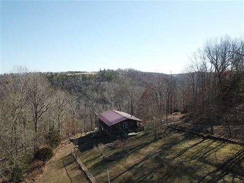 80 Acres & Cabin Approximately : Marshall : Searcy County : Arkansas