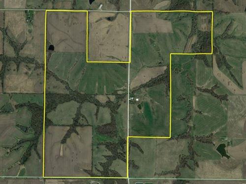 Monroe County Farm For Sale : Moravia : Monroe County : Iowa
