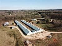 2 House Breeder Farm On 67+/- Acres : Haleyville : Marion County : Alabama