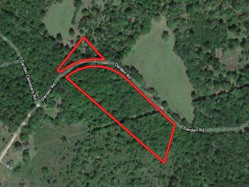 Secluded Residential Hunting Land : Chester : Polk County : Texas