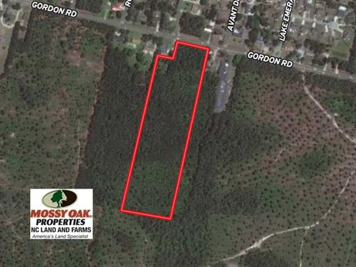 14 Acres of Residential Developmen : Wilmington : New Hanover County : North Carolina
