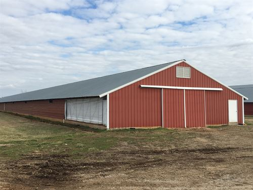 Turn-Key Upgraded Poultry Farm : Franklin : Simpson County : Kentucky